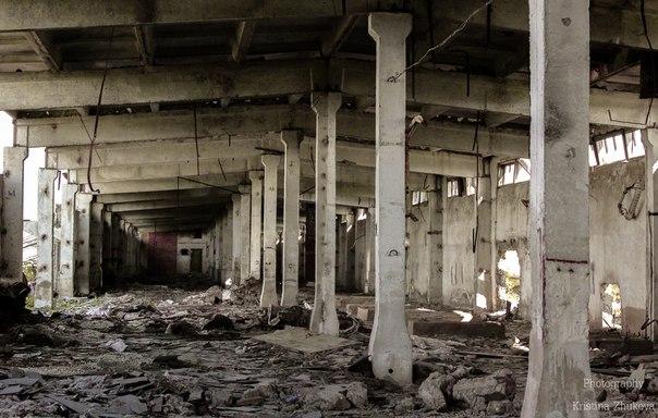 Опубликованы фотографии изнутри разваливающейся Гигроваты