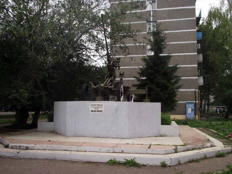 Найден документ, в котором зенитка значится как памятник с Советских времен