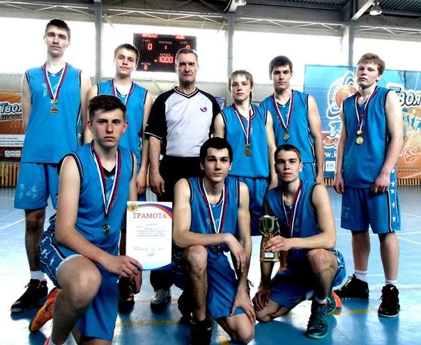 """Победителем первенства города по баскетболу стала  команда """"Импульс"""""""