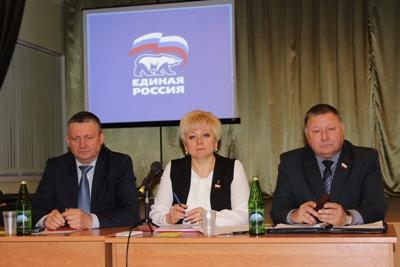 Ртищевское отделение партии Единая Россия возглавила Светлана Макогон
