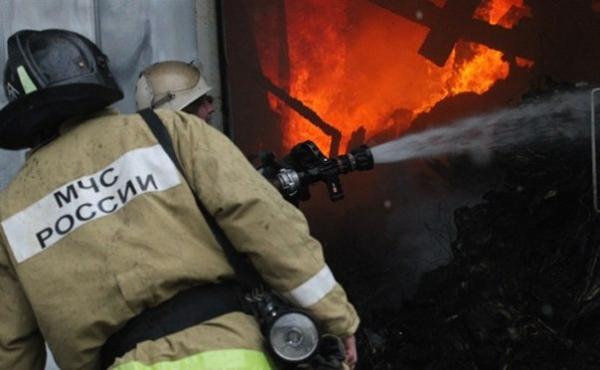 Сегодня в Ртищеве тушили два пожара