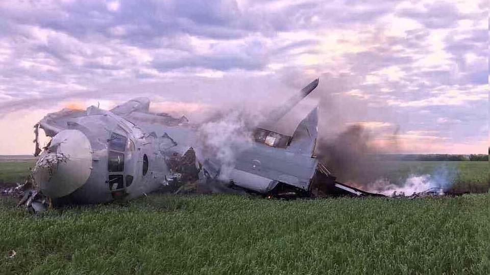 В Балашове упал самолет с курсантами