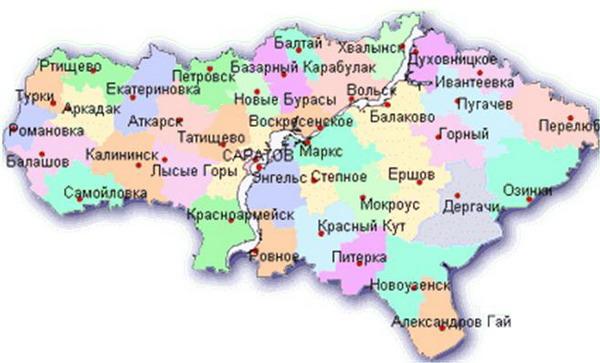 Четыре населенных пункта исчезли с карты Саратовской области