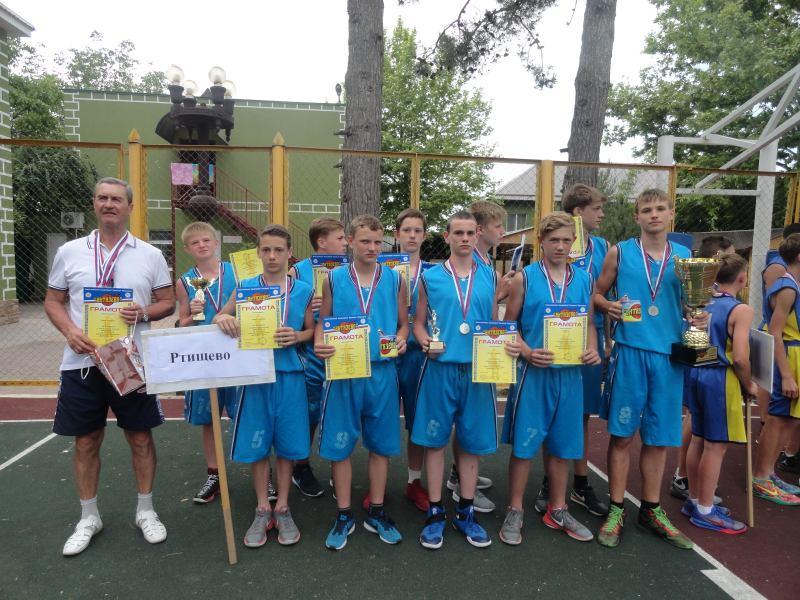 Ртищевские баскетболисты стали серебряными призерами Всероссийских соревнований