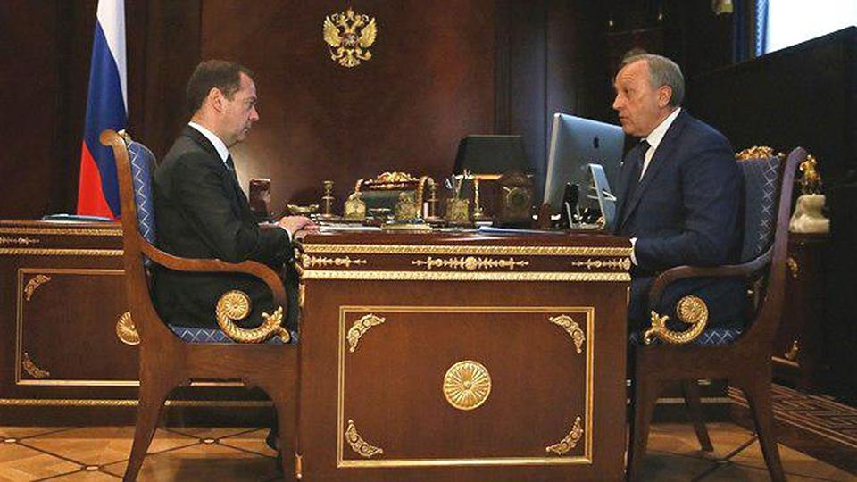 Валерий Радаев обратился за поддержкой к Дмитрию Медведеву