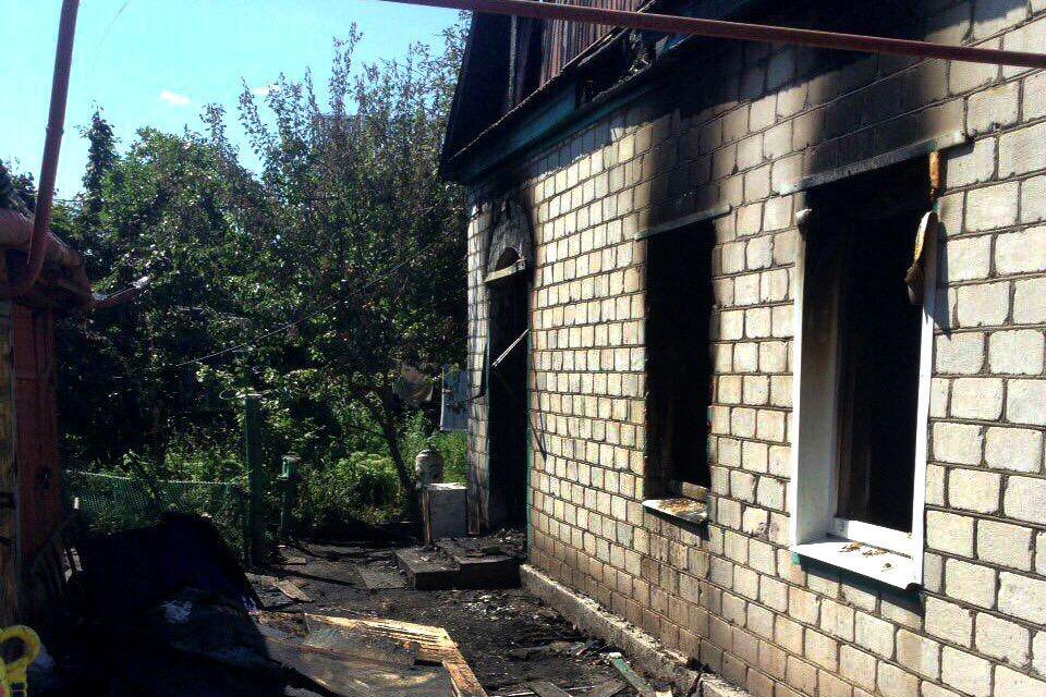 На месте смертельного пожара побывал Ртищевский межрайонный прокурор