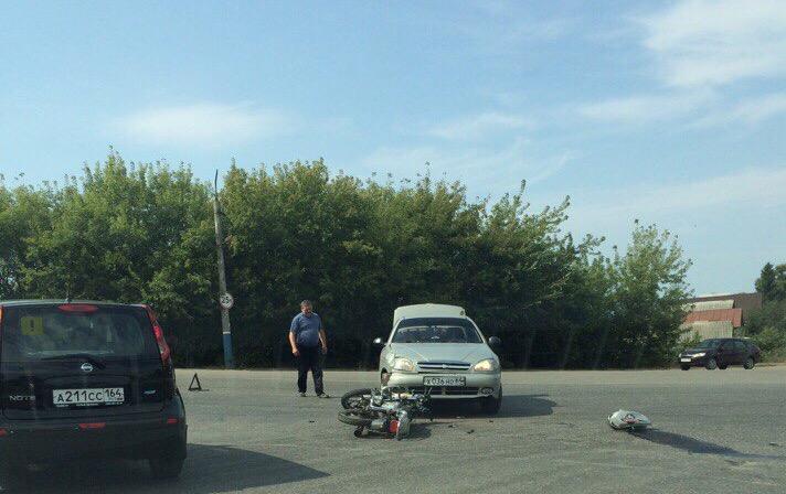 В аварии на ртищевском мосту пострадал ребенок