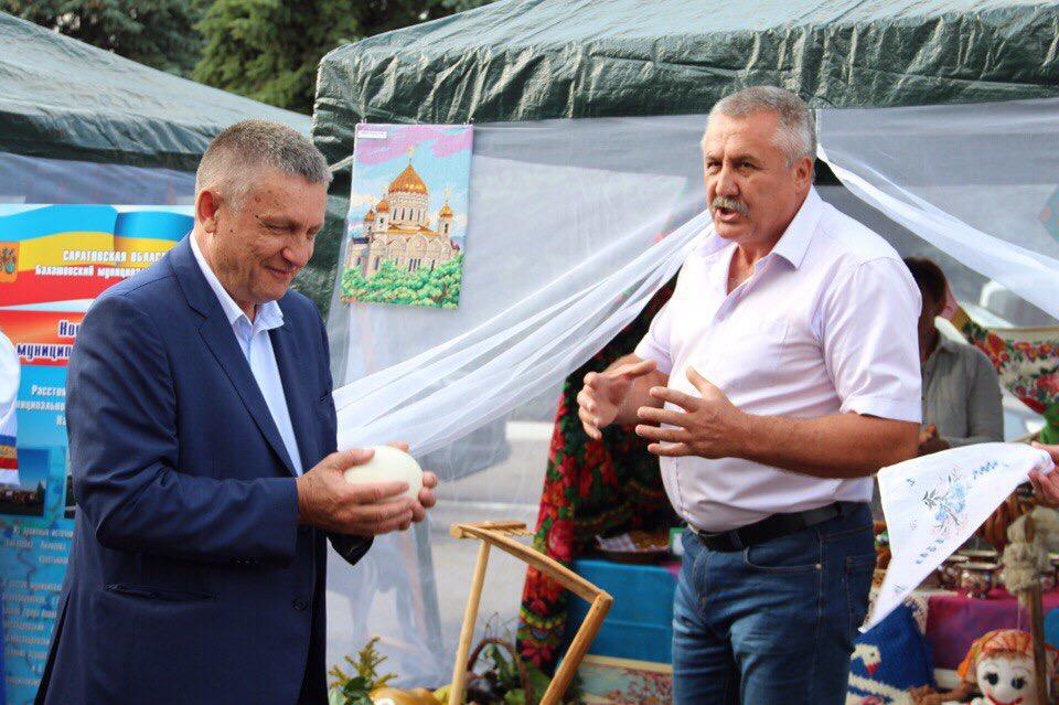 Александр Санинский посетил Театральный фестиваль в Балашове