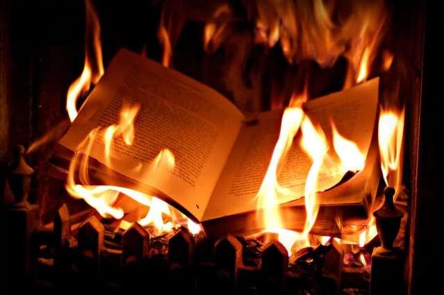 Ртищевский пенсионер бросил в окно соседки горящий журнал