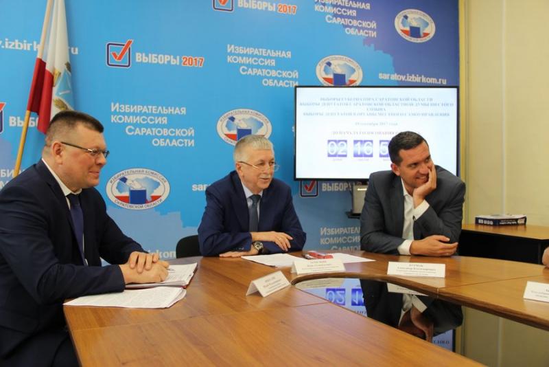 На выборах победили Единая Россия и Валерий Радаев