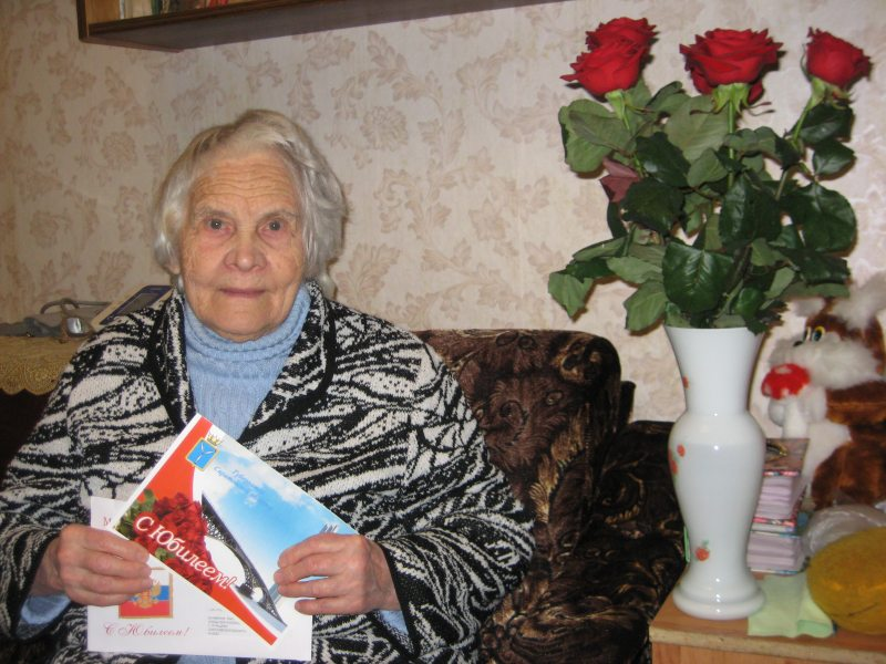 Президент поздравил ртищевскую пенсионерку с юбилеем