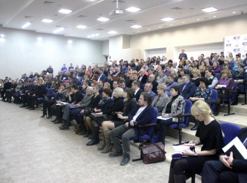 Члены райадминистрации обсудили со студентами благоустройство области