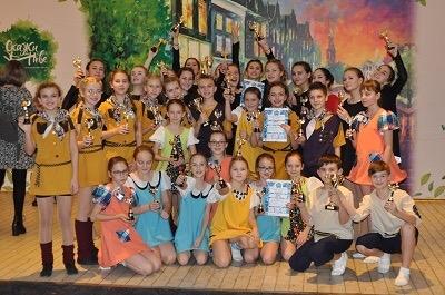 Ртищевские танцоры стали лауреатами в Международном конкурсе