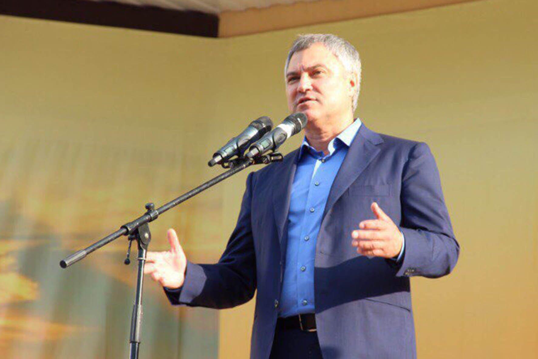 Вячеслав Володин посетит Ртищево