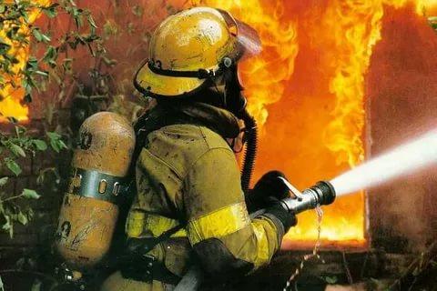 Ночью в Ртищевском районе сгорел дом
