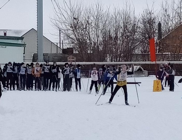 Ртищевцы приняли участие во Всероссийской массовой лыжной гонке