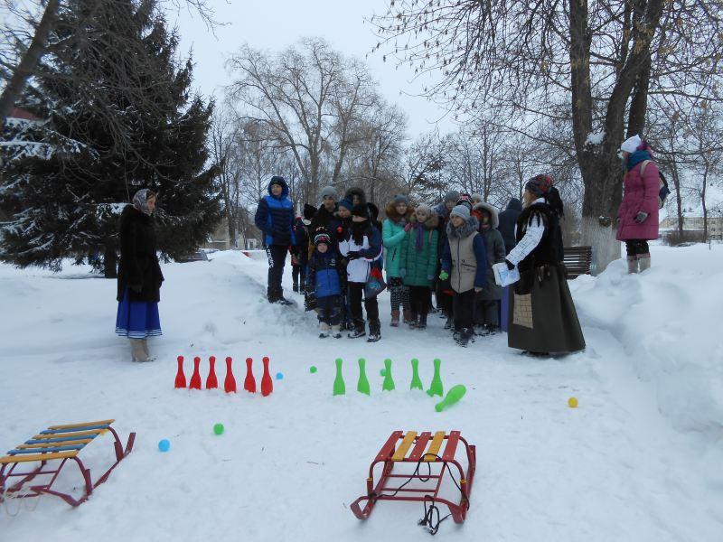 В городском парке состоялась квест-игра для детей