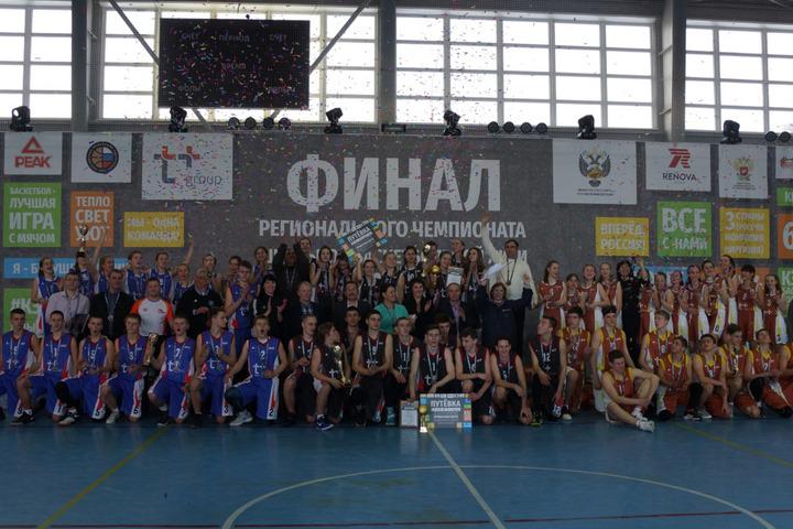 В Ртищево определили лучших баскетболистов региона