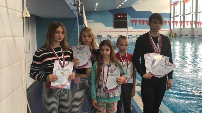 Ртищевские пловцы вошли в состав сборной Саратовской области