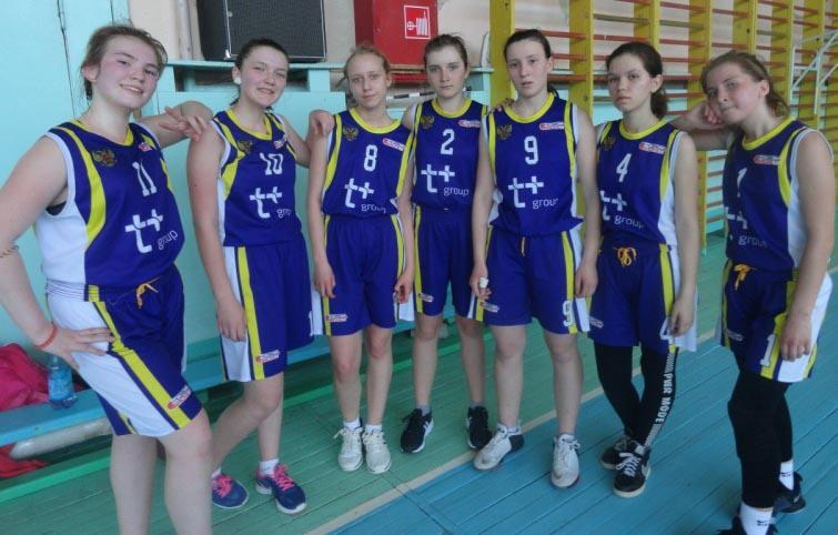 Ртищевские баскетболистки одержали победу в областном первенстве