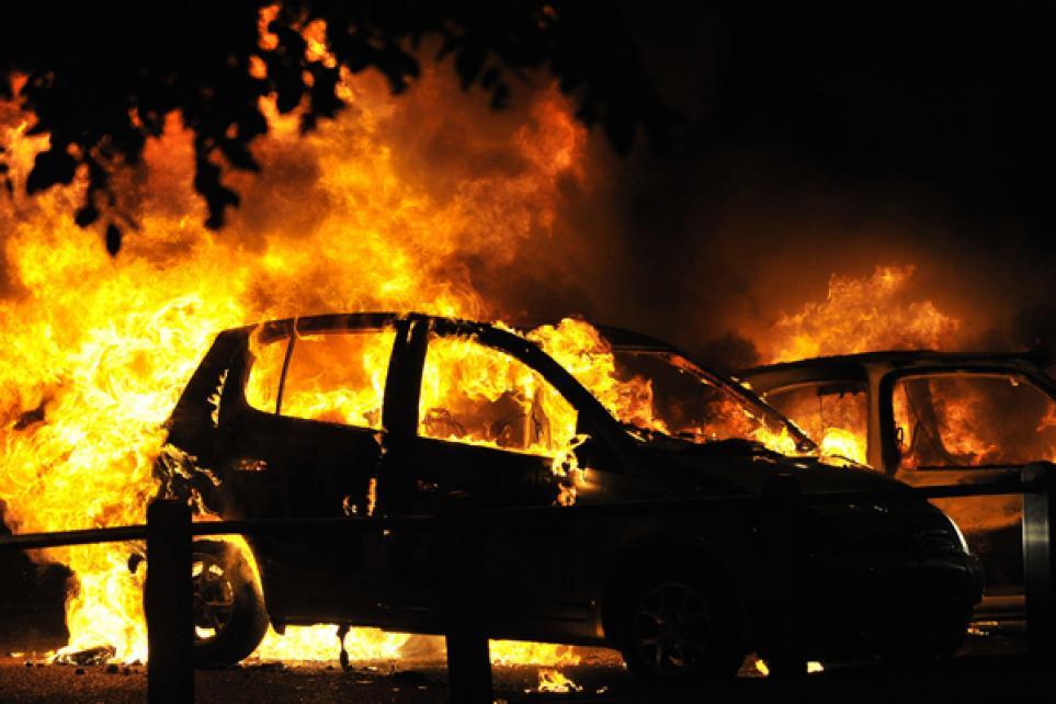 За ночь в Ртищево сгорело три автомобиля