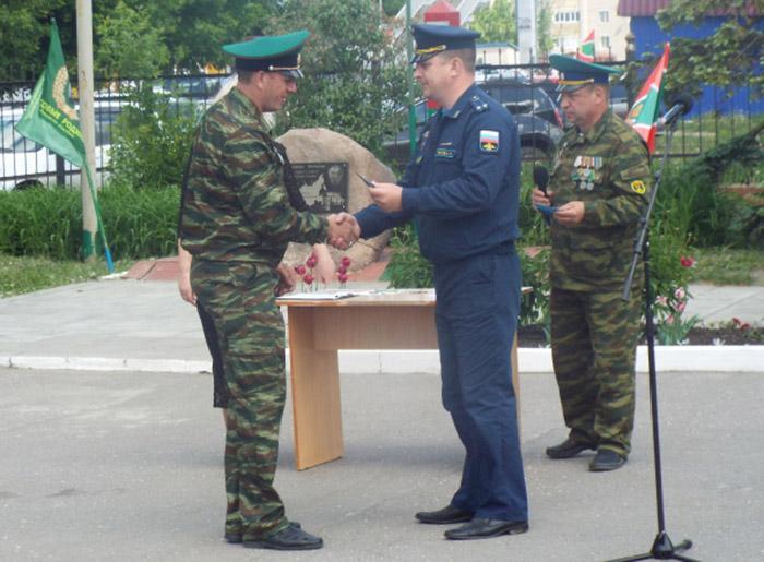 Ртищевские ветераны пограничных войск были награждены медалями