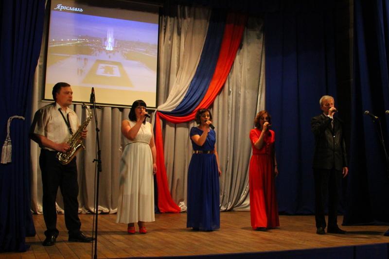 В Ртищево состоялся концерт, посвященный дню России