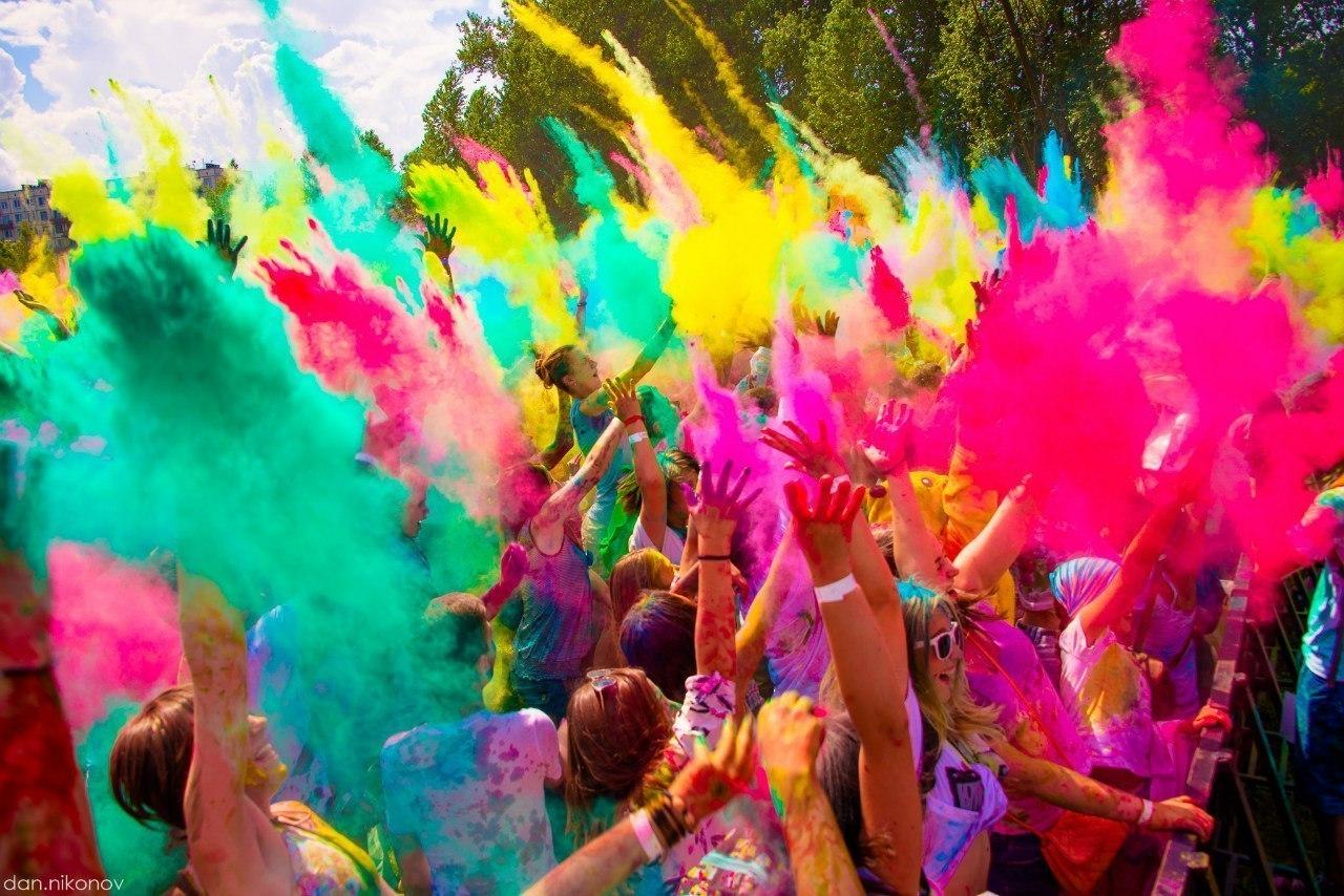 Завтра в Ртищево состоится концерт и фестиваль красок