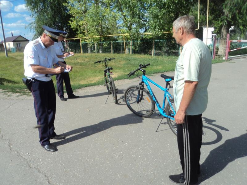 Ртищевцам предложили зарегистрировать велосипеды