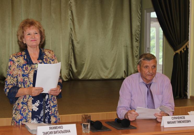 Ртищевские ветераны обсудили вопросы социальной защищенности