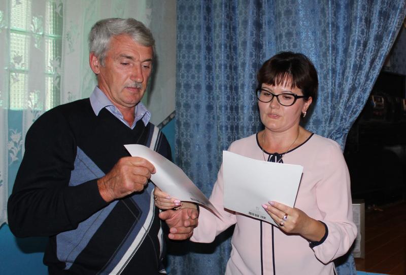 Светлана Макогон поблагодарила активных жителей сел