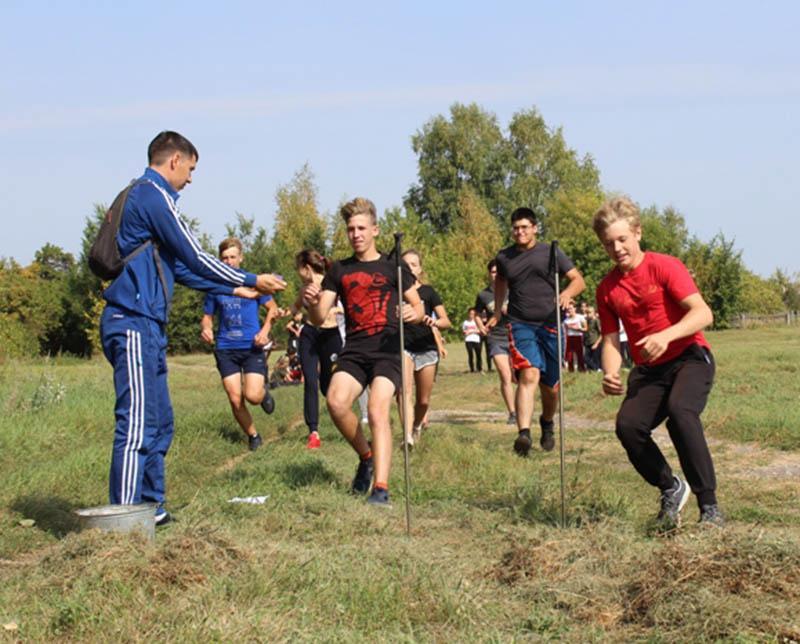 Ртищевские школьники приняли участие в турслете