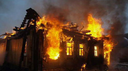 Двое пожилых супругов сгорели в Летяжевском санатории