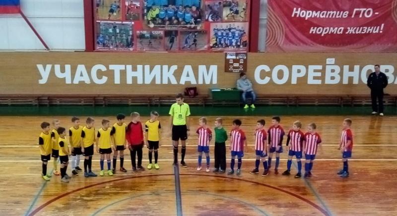 Юные футболисты Ртищева приняли участие в Первенстве Пензенской области