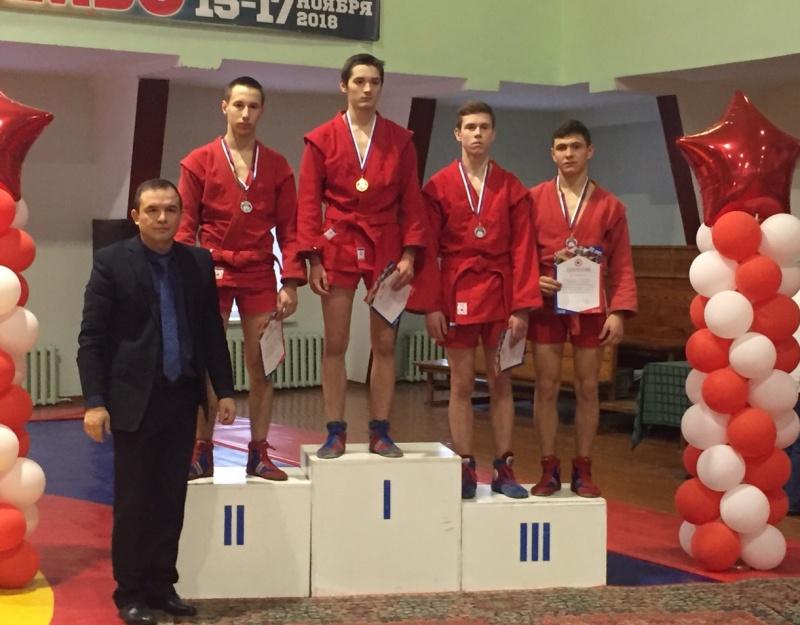 Никита Тимашов стал бронзовым призёром первенства ПФО по самбо