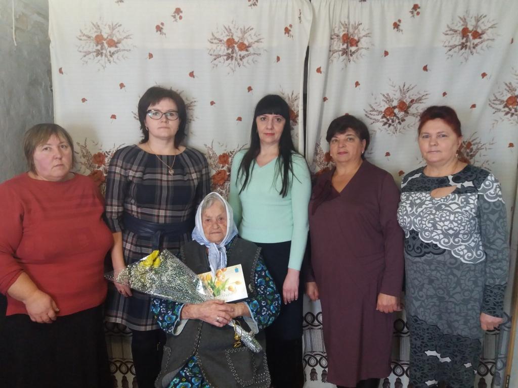Долгожительница Ртищевского района отметила свое 103-летие