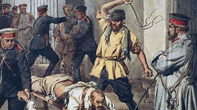 Крестьянские холопы голосуют за крепостное право