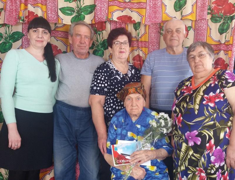Жительница Ртищевского района Зинаида Гудова отметила 90-летний юбилей