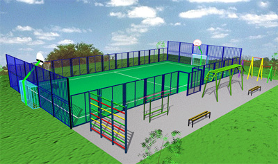 В Ртищево появится универсальная спортивная площадка