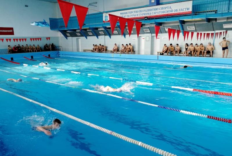 В бассейне «Дельфин» состоялось Первенство района по плаванию