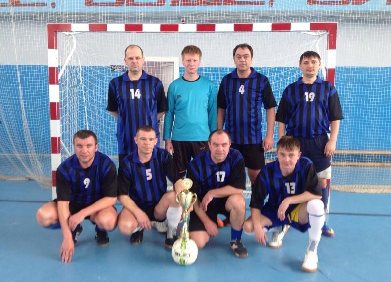 Объявлен победитель Чемпионата города по мини-футболу среди мужчин