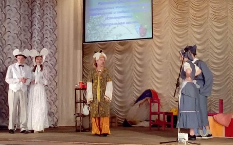 Состоялся районный фестиваль театральных коллективов