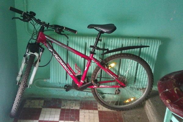 Рецидивист угнал велосипед из подъезда
