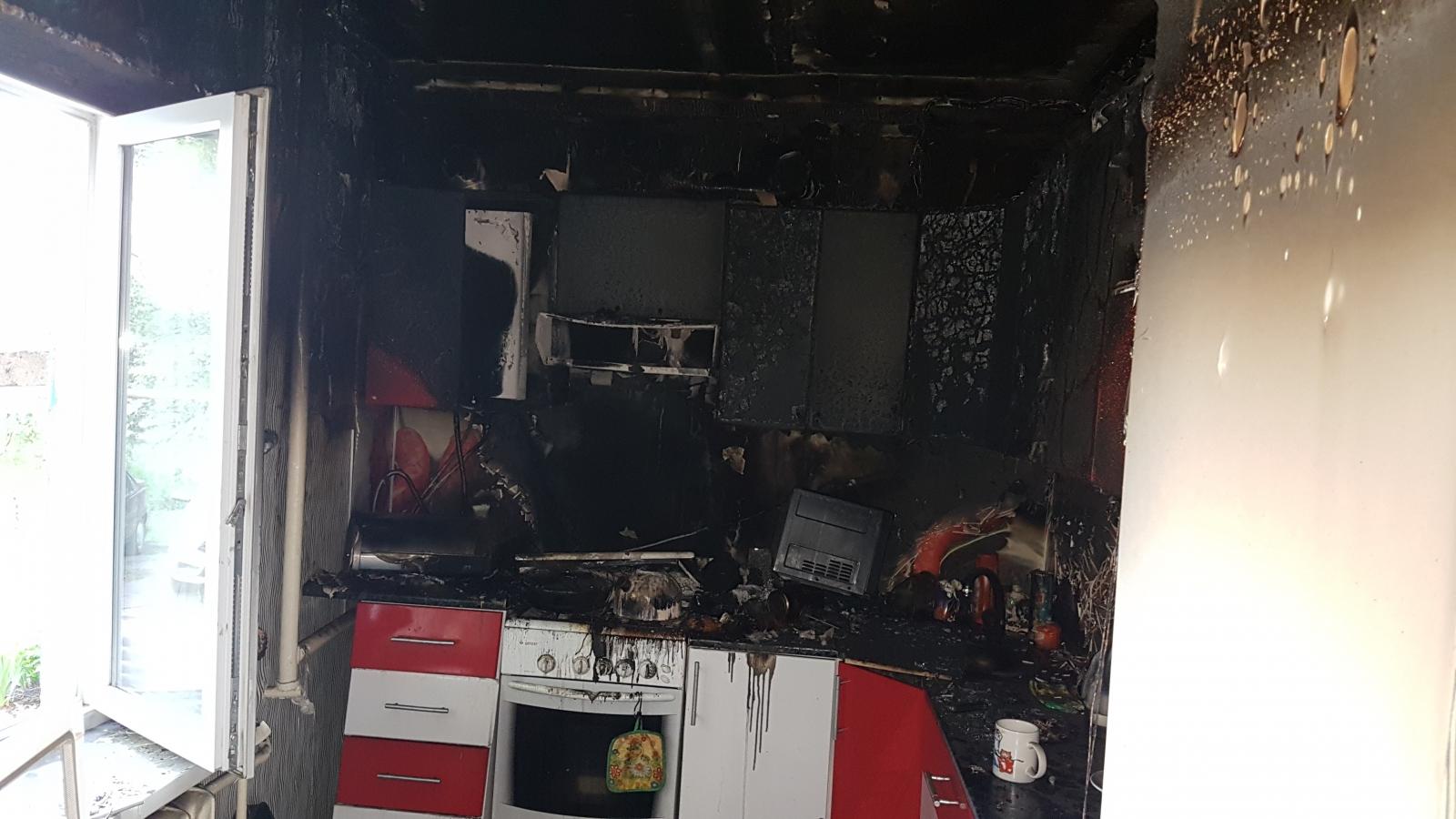 Следователи рассказали подробности гибели женщины на пожаре в Ртищево. Фото
