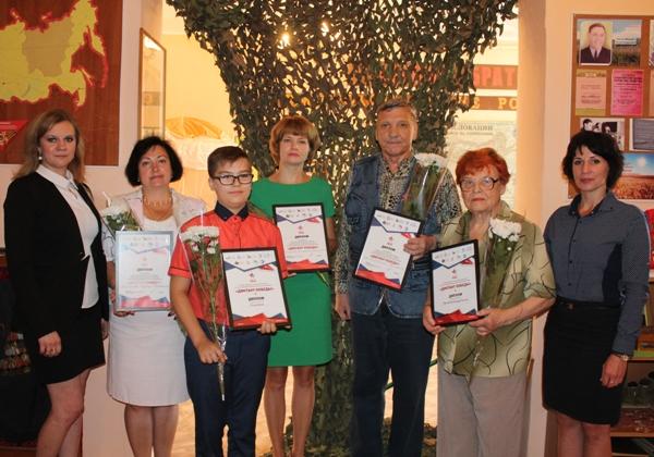 Состоялось награждение победителей и участников «Диктанта Победы»
