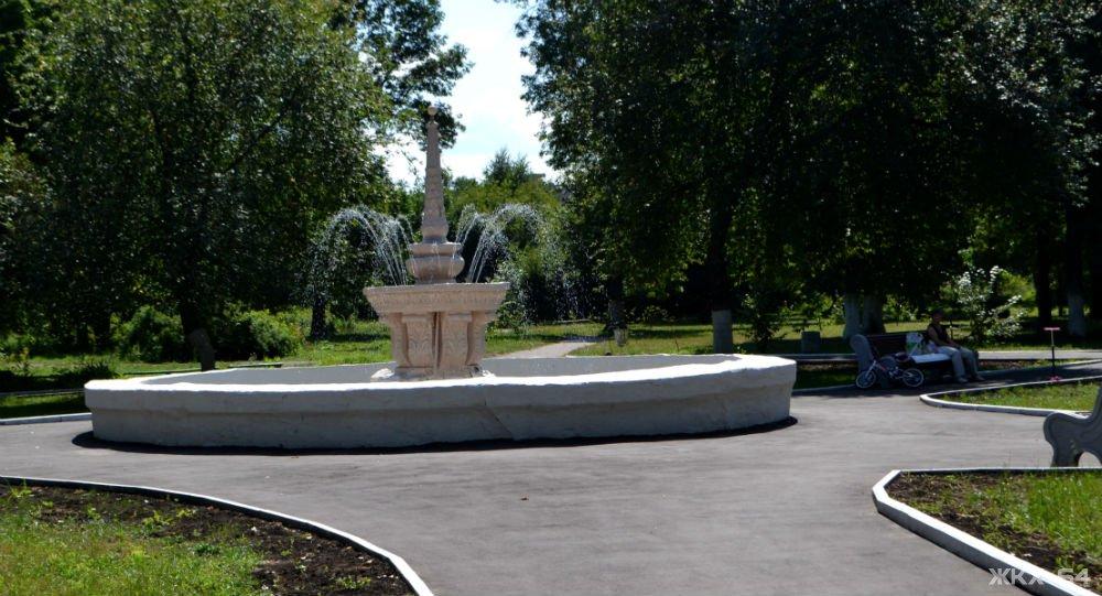 Ртищевский фонтан будет обновлен