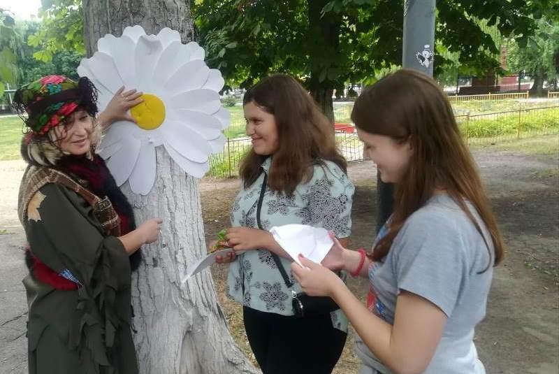 В Городском парке прошли мероприятия ко Дню семьи, любви и верности