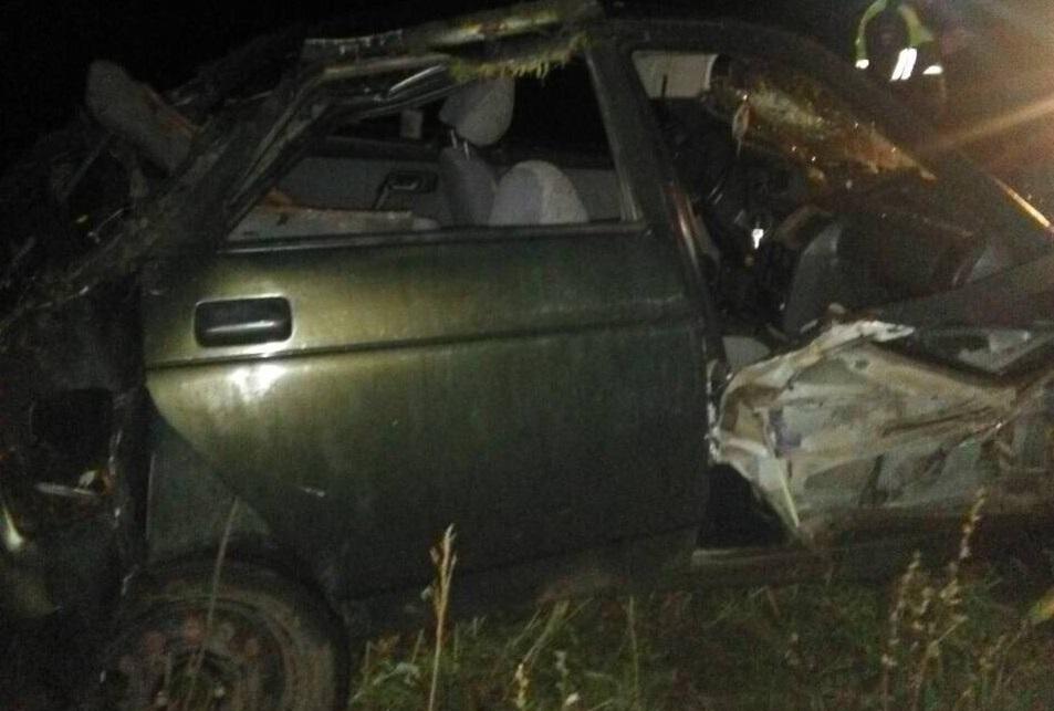 """Водитель перевернувшейся """"десятки"""" скончался в больнице"""
