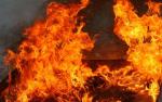В Шило-Голицыно сгорел частный двухквартирный дом