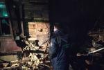 На пожаре в Салтыковке погиб человек